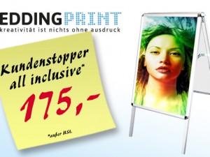 Kundenstopper all inclusive 175,-